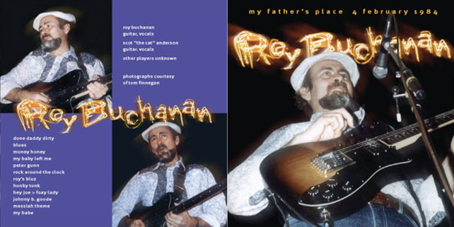 roy buchanan 1984 02 04 my father's place cover out