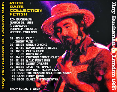 roy buchanan 1985 03 05 live in london 1985 tray