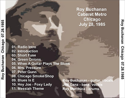 roy buchanan 1985 07 28 cdr cabaret metro chicago geetarz tray