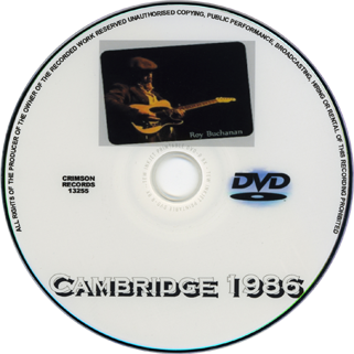 roy buchanan 1986 12 26 cambridge crimson label