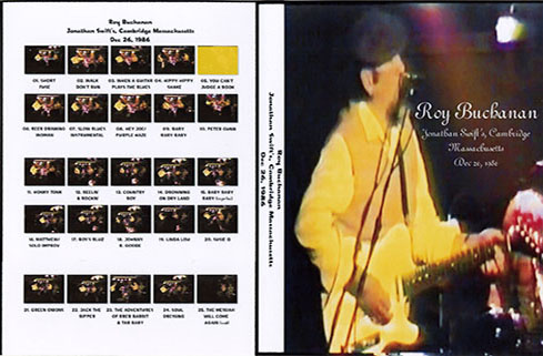 roy buchanan 1986 12 26 cambridge crimson cover