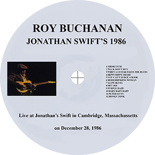 roy buchanan 1986 12 28 cambridge crimson label