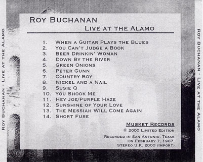 roy buchanan 1987 02 07 live at the alamo tray
