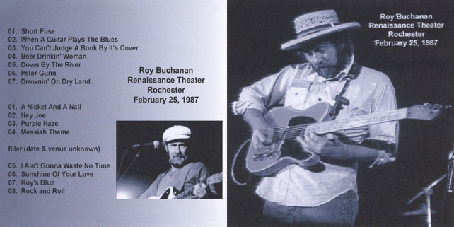 roy buchanan 1987 02 25 rochester cover out