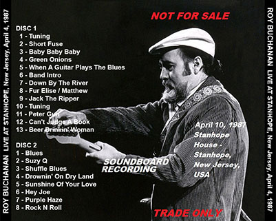 roy buchanan 1987 04 10 stanhope tray