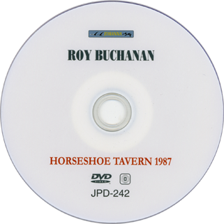 roy buchanan 1987 12 01 horseshoe tavern toronto label