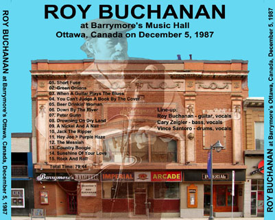 roy buchanan 1987 12 05 barrymore's ottawa tray