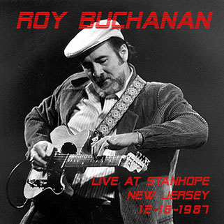roy buchanan live at stanhope house front