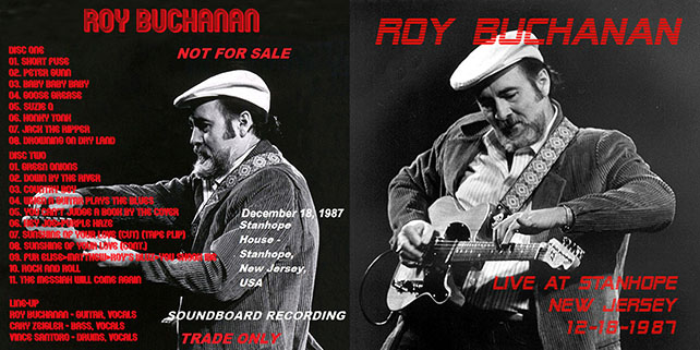 roy buchanan live at stanhope house out