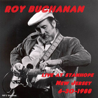 roy buchanan 1988 06 30 live at stanhope house front