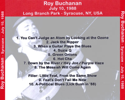 roy buchanan 1988 07 10 syracuse tray