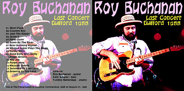roy buchanan 1988 08 07 last concert guilford 1988 cover out