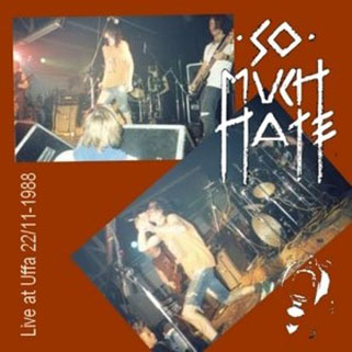 so much hate cd dvd live at uffa 22 11 1988 front