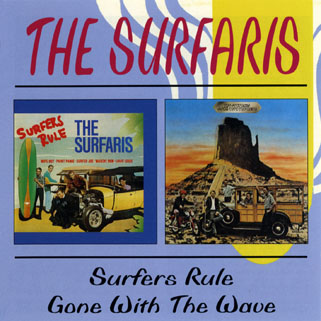 surfaris 2 cd surfers rules / gone with the wave front