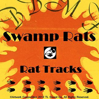 swamprats cd rat tracks front