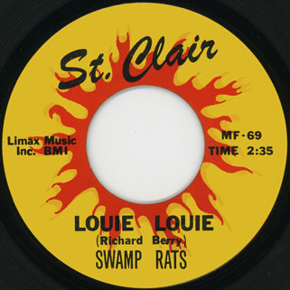 swamprats single st clair side louie louie
