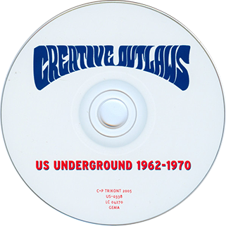 tim rose cd creative outlaws label