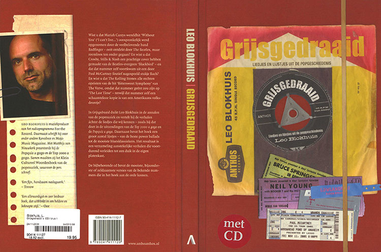 tim rose book cd grijsgedraaid cover out