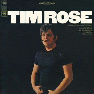tim rose lp tim rose columbia cs 9577 front