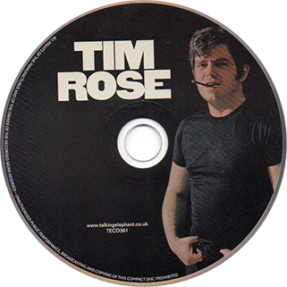 tim rose cd tim rose talking elephant label