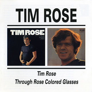 tim rose cd same and through colored glasses front