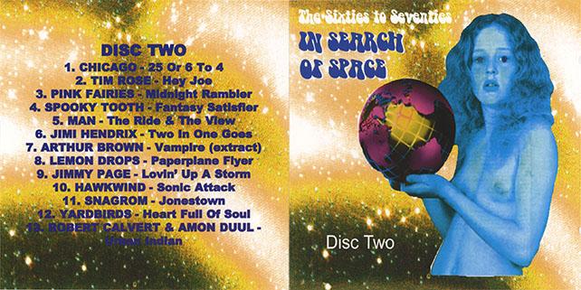 tim rose boxset in search of space cd 2 cover out