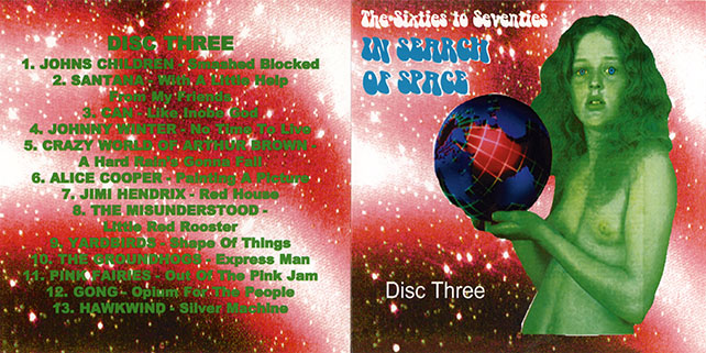 tim rose boxset in search of space cd 3 cover out