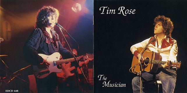 tim rose cd the musician booklet cover out