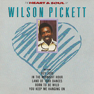 wilson pickett cd heart and soul front