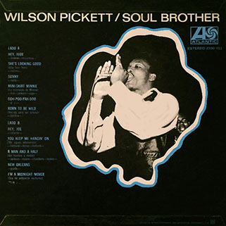 wilson pickett lp soul brother back