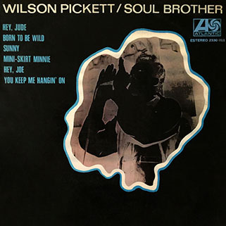 wilson pickett lp soul brother front