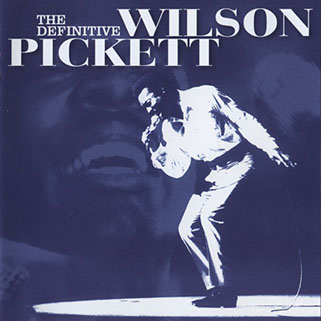 wilson pickett cd the definitive collection rhino blue front