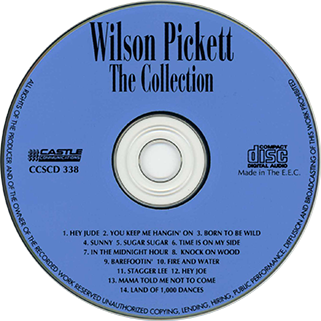 wilson pickett cd the collection castle label