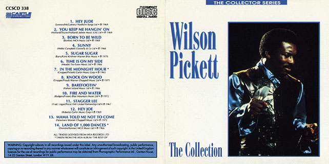 wilson pickett cd the collection castle out